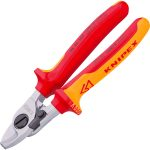 Knipex 95 26 165 Cable Cutters With Opening Spring 165mm
