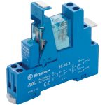 Finder 49.52.7.024.0050 Interface Relay Module 24VDC 8A DPDT (AgNi)