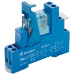 Finder 49.52.7.012.0050 Interface Relay Module 12VDC 8A DPDT (AgNi)
