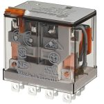 Finder 56.34.9.012.0040 Plug-in Relay 4PDT-CO 12VDC 12A