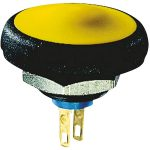 Apem IFS3Z1AD500 IF Series Pushbutton Switch 50V DC 100 mA Yellow