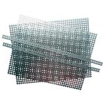 Modelcraft 421229 Perforated Steel Pack, 2 Plate and 2 Strips