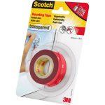 3M Scotch Mounting Tape Transparent 19mm x 1.5m