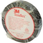 3M XE003411438 Temflex 1500 PVC Electrical Insulating Tape Black…