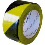 3M 70006299831 766i Hazard Marking Vinyl Tape PVC Black/Yellow 50…