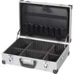 Toolcraft 815085 Aluminium Empty Tool Case 425 x 305 x 135mm