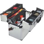 Toolcraft 821028 Aluminium Pilot Tool Box 450 x 225 x 320mm