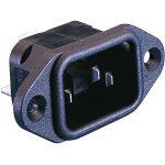 ESKA Bulgin PX0580/28 IEC Socket Panel Mount Cold Device Flange 25…