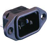 ESKA Bulgin PX0580/63 IEC Socket Panel Mount Cold Device Flange 25…