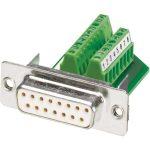Phoenix Contact 1688094 IP-67 15-pin Socket D-Sub Connector