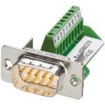 Phoenix Contact 1688379 IP-67 9-pin Plug D-Sub Connector