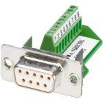 Phoenix Contact 1688395 IP-67 9-pin Socket D-Sub Connector