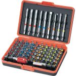 Toolcraft 813674 Bit Set With Colour Coding 6.3mm (1/4″) 71 Piece