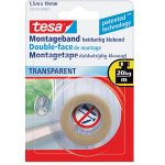 tesa 55743 Double Sided Tape Transparent 19mm x 1.5m