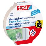 tesa 55744 Double Sided Tape Transparent 19mm x 5m
