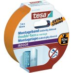 tesa 55742 Extra Strong Double Sided Tape 38mm x 5m