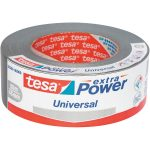 tesa 56389 Extra Power Universal Fabric Tape – Silver – 48mm x 50m