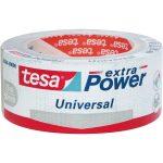 tesa 56388 Extra Power Universal Fabric Tape – Silver – 50mm x 25m
