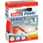 tesa 56341 Extra Power Fabric Tape Red 19mm x 2.75m