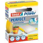 tesa 56341 Extra Power Fabric Tape – Yellow – 19mm x 2.75m