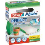 tesa 56341 Extra Power Fabric Tape – Green – 19mm x 2.75m