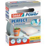 tesa 56341 Extra Power Fabric Tape – Grey – 19mm x 2.75m