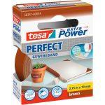 tesa 56341 Extra Power Fabric Tape – Brown – 19mm x 2.75m