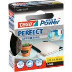 tesa 56341 Extra Power Fabric Tape – Black – 19mm x 2.75m