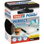 tesa 56343 Extra Power Fabric Tape – Black – 38mm x 2.75m