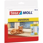 tesa 05412 Universal Foam Sealing Tape White 9mm x 10m