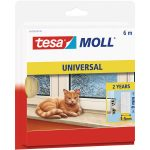 tesa 05428 Universal Foam Sealing Tape White 9mm x 6m