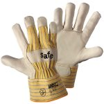 Worky 1571 Safe TOP Cow Grain Leather Glove – Size 10