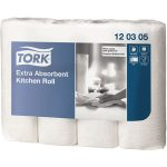 Tork 120305 Extra Absorbent Kitchen Roll 3 Ply – 12 Packs Of 4 x 5…