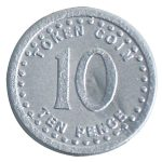 Invicta 060959 Sterling Play Coins 100 x 10p Coins