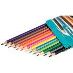 Classmaster Assorted Colouring Pencils Wallet 12