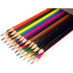 Classmaster Assorted Colouring Pencils Wallet 24