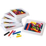 Learning Resources Cuisenaire Rods Classroom Multi-pack