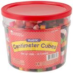 Learning Resources Centimetre Cubes Set of 1000