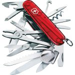 Victorinox 1.6795.T SwissChamp Swiss Army Knife Red Translucent