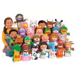 Learn The Alphabet Puppet Set