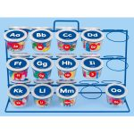 Teaching Tubs Storage Rack
