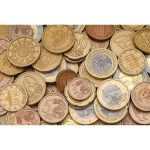 Learning Resources Mixed Euro Coins Bag of 100