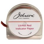 Johnson Litmus Paper Red 5m Reel x 7mm