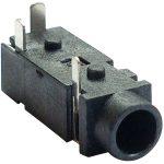 BKL 072357 Jack Socket 3.5mm Horizontal 2-poles Mono