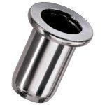 NOVUS 045-0041 Aluminium Blind Rivet Nuts M4 x 6mm – Pack Of 10