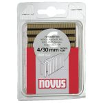 NOVUS 042-0391 Type 4 4/18 Narrow Crown Staples 6mm 18mm – Pack Of…