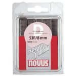 NOVUS 042-0386 Type 11 11/10 Flat Wire Staple 10.6mm 10mm Pack Of 600