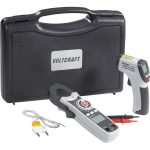 Voltcraft VC-TEST-KIT 100 Infrared Thermometer and Clamp Meter