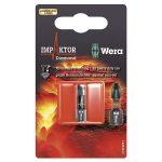 Wera 05073905001 840/1 Impaktor Diamond Bits for Hex-Plus Socket S…