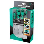 Wera 05028062001 367/6 6-Piece Kraftform Plus Torx Screwdriver Set